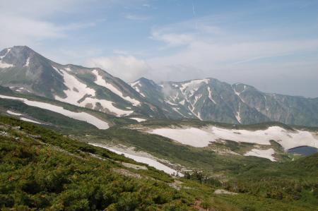 97旭岳~清水岳の尾根