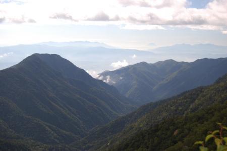108燕岳へ