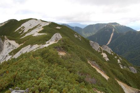 117北燕岳稜線