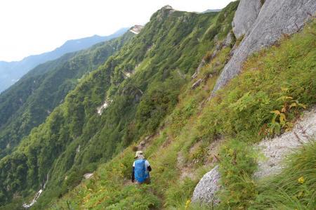 119北燕岳稜線