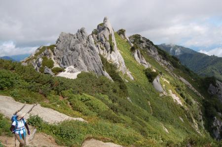 123北燕岳稜線・お花畑