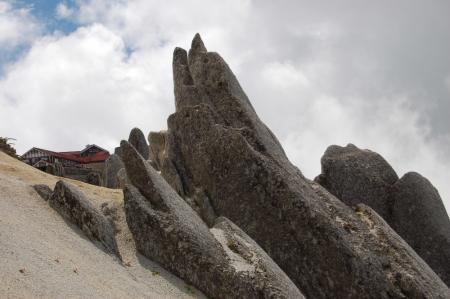 135燕山荘・いるか岩