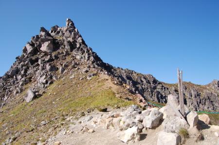 13山頂付近・南峰
