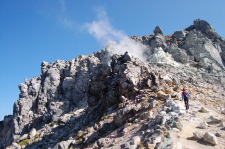 14山頂付近・南峰