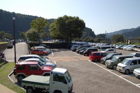 30立山駅駐車場