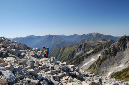 63雄山への登り