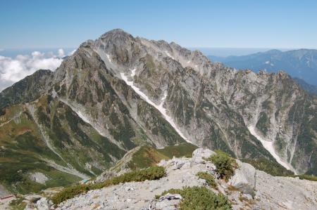 91別山・北方からの剣岳