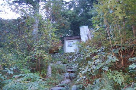 54滝谷避難小屋