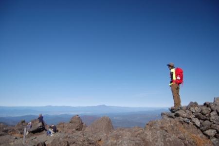 123山頂・岩手山