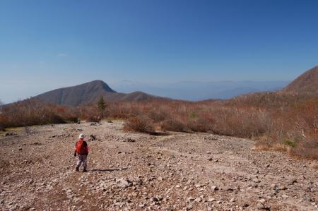 38長七郎山から下山