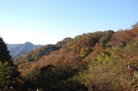 3車道から明山