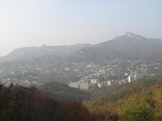 ソウルの北方向