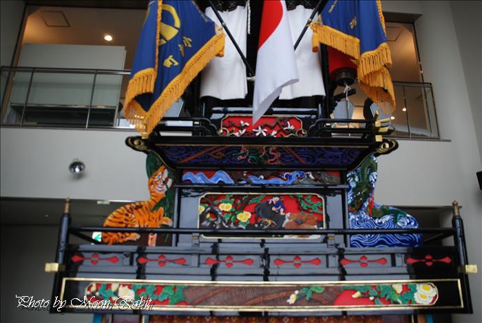 西条祭り関係 石鎚山ハイウェイオアシス展示のだんじり(屋台) 愛媛県西条市小松町新屋敷 2009年2月28日