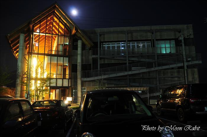 西条市の夜景 西条市総合福祉センターの夜景 愛媛県西条市上神拝 2009年4月10日