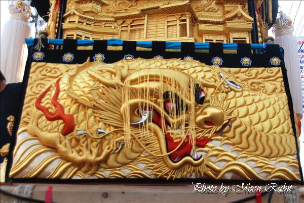 西町太鼓台(一宮神社) --写真は-- 西町太鼓台(一宮神社)の飾り幕 新居浜太鼓祭り川西地区 愛媛県新居浜市