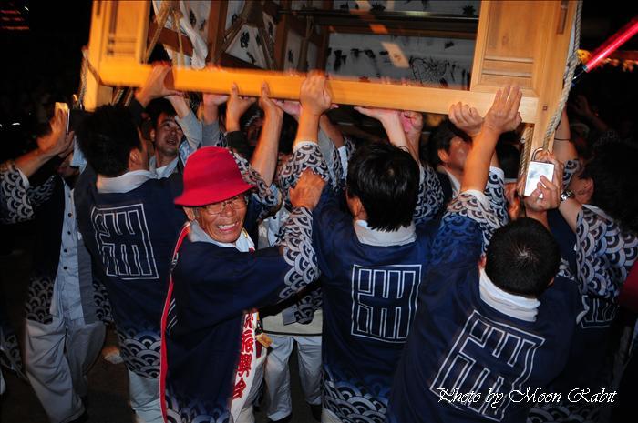 (西条祭り 2009 伊曽乃神社祭礼関係) お旅所 洲之内(すのうち)だんじり(屋台) 愛媛県西条市大南上 2009年10月16日