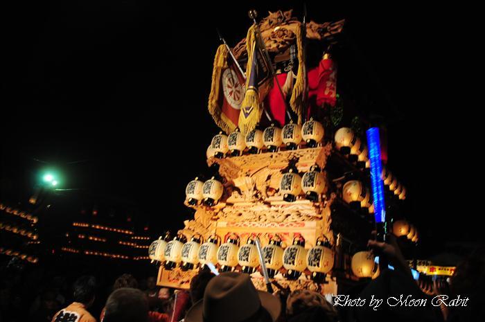 (西条祭り 2009 伊曽乃神社祭礼関係) お旅所 地蔵原だんじり(屋台) 愛媛県西条市大南上 2009年10月16日