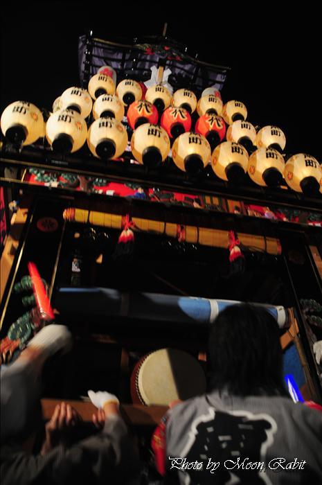 (西条祭り 2009 伊曽乃神社祭礼関係) お旅所 南町だんじり(屋台) 愛媛県西条市大南上 2009年10月16日
