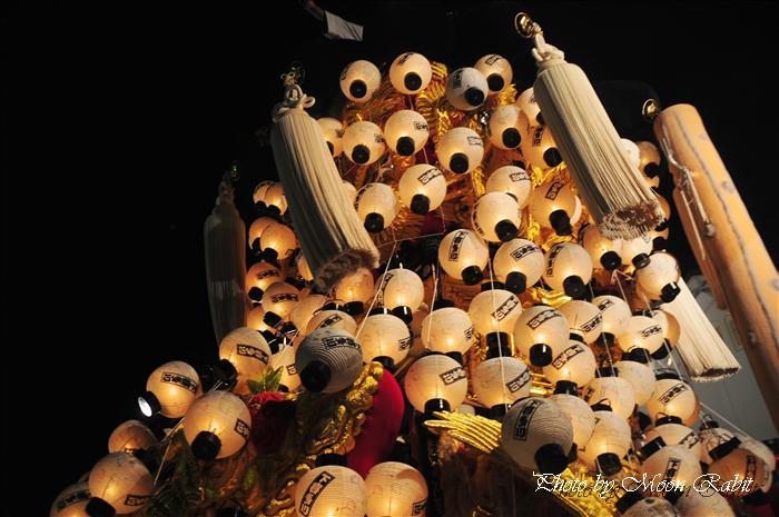 (西条祭り 2009 伊曽乃神社祭礼関係) お旅所 下喜多川みこし(御輿) 愛媛県西条市大南上 2009年10月16日