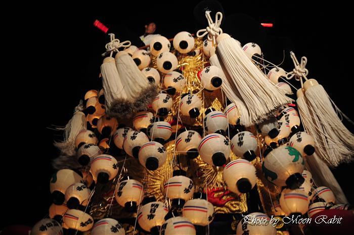 (西条祭り 2009 伊曽乃神社祭礼関係) お旅所 朔日市みこし(御輿) 愛媛県西条市大南上 2009年10月16日