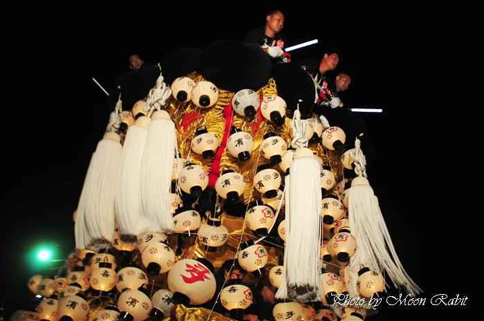 (西条祭り 2009 伊曽乃神社祭礼関係) お旅所 北浜みこし(喜多濱御輿) 愛媛県西条市大南上 2009年10月16日