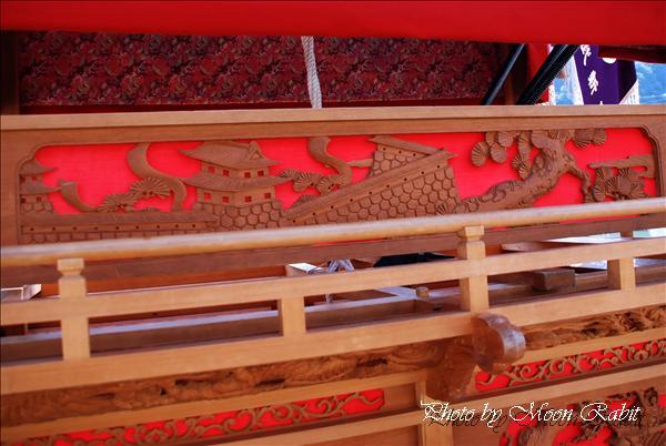 (西条祭り) 新田だんじり 敬老の日 愛寿会(西条愛寿会病院)・福武荘慰問運行 2010年9月19日