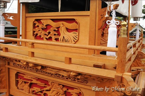 西条祭り2010 原之前だんじり(原の前屋台・楽車)の胴板彫刻など 伊曽乃神社祭礼関係 2010年9月26日