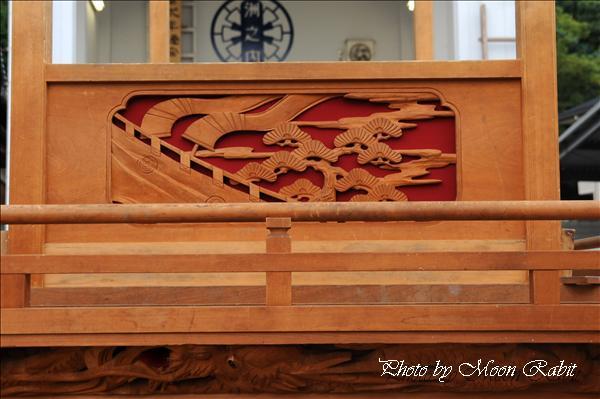 西条祭り2010 洲之内だんじり(原の前屋台・楽車)の胴板彫刻など 伊曽乃神社祭礼関係 2010年9月26日