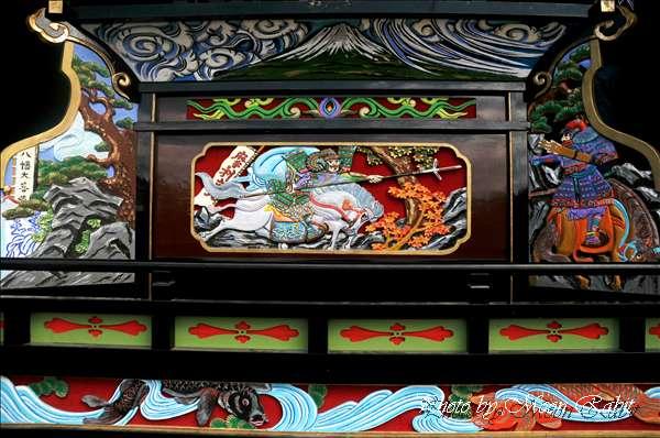 西条祭り2010 原之前だんじり(原の前屋台・楽車)の胴板彫刻など 伊曽乃神社祭礼関係 2010年10月3日