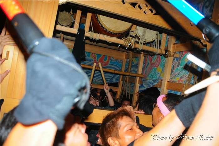 (西条祭り 2010 伊曽乃神社祭礼関係) お旅所 駅西だんじり(屋台) 愛媛県西条市大南上 2010年10月16日