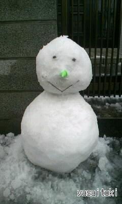 100202雪だるま