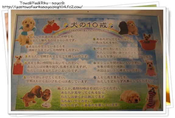 犬の10戒パズル
