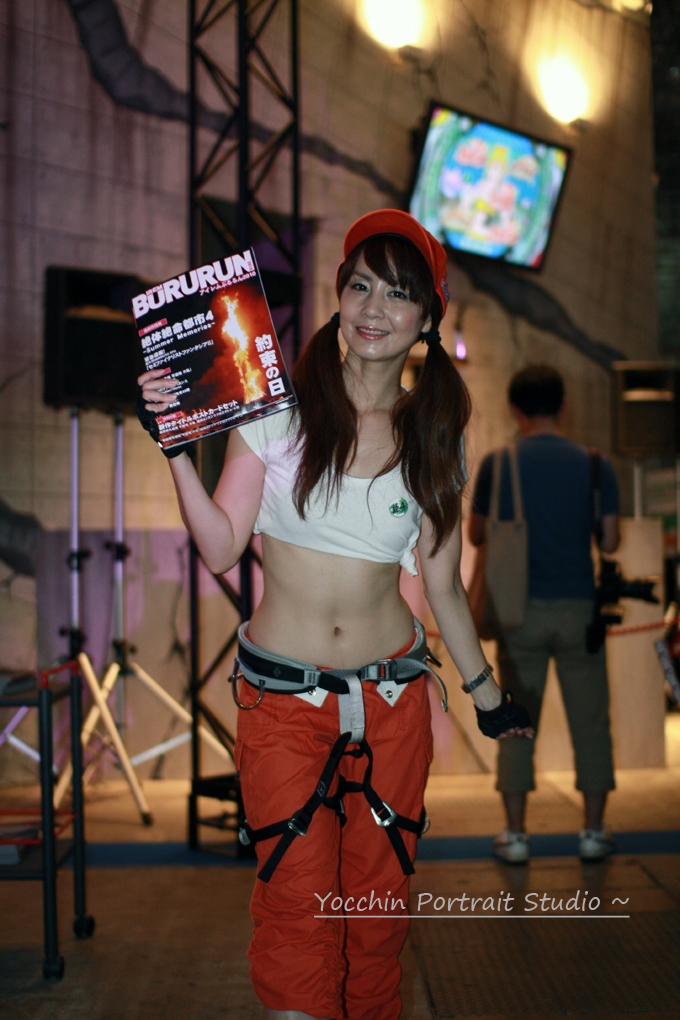 TOKYO GAME SHOW 2010 イベントコンパニオン