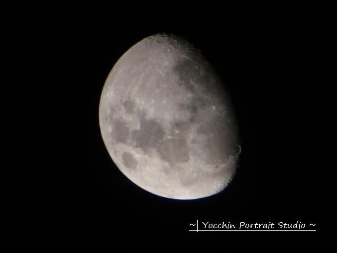 星の村天文台の月