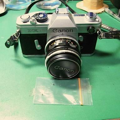 Canon FX 修理前