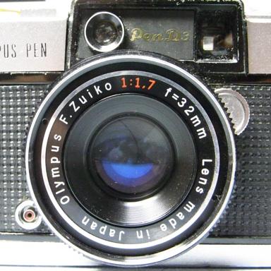 OLYMPUS PEN D3 レンズ