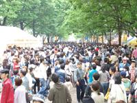 タイイフェス2010人ごみ