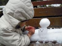 雪だるまさ~ん。