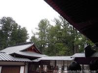 日光二荒山神社にて。