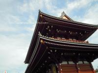 浅草寺の門。