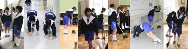 芋セラ 名古屋襟 セーラー服 女子中学生 中学校