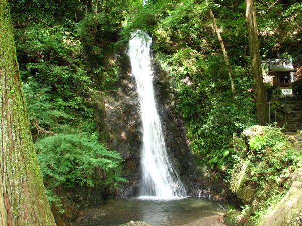 7881横尾の滝二の滝100818
