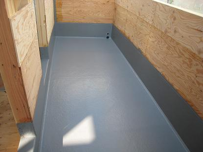 20100317バルコニー防水処理