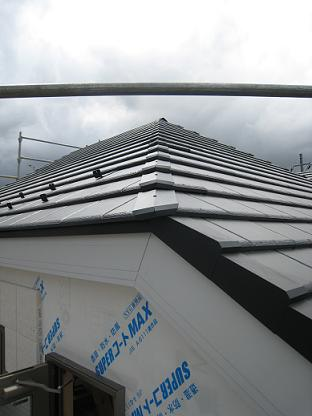 20100442屋根完成