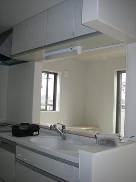 20100429キッチン吊り棚