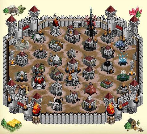 ドラゴンクルセイド2-主城