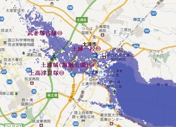 土浦MAP
