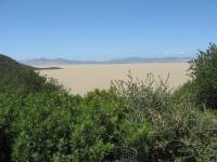 H230820イシェル湖砂漠の砂の黄色の水