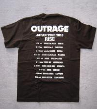 OUTRAGE Tshirt Back