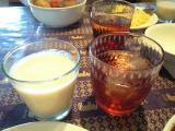 091103江別アジャンタラッシー&ウーロン茶